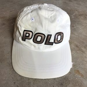 VTG POLO SPORT 3M Reflective Rubber Spell Out Hat